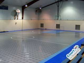 Used Gym Floors Multi Game Courts Sports Tile